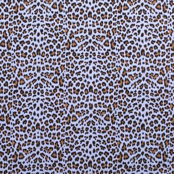 blauw cognac zwart luipaard hydrofiel