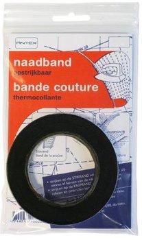 zwart naadband vlieseline - strijkband naden