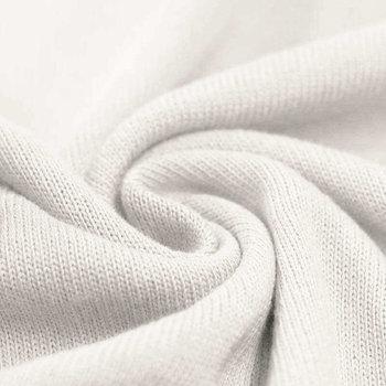 wit (off white) baby katoen fijn gebreide stof (op=op)