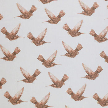 wit (off white) bruin kolibrie digitaal