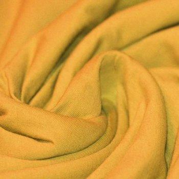 geel mosterd/oker uni - tricot