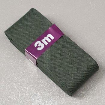 army groen biasband 3cm - (3meter)