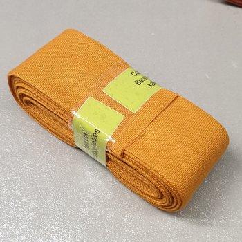 geel (oker) biasband 3cm - (3meter)