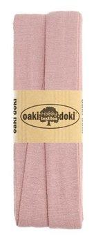oud roze tricot biasband 2cm - (3meter)