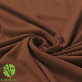 bruin uni - BAMBOE tricot