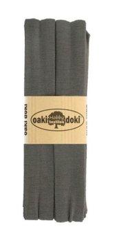 grijs tricot biasband 2cm - (3meter)
