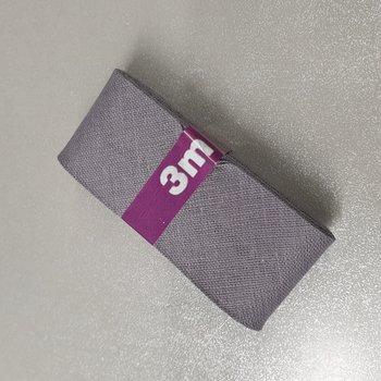 grijs biasband 3cm - (3meter)