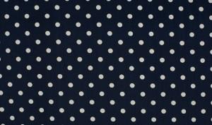 donker blauw witte nop