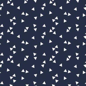 donker blauw wit triangel
