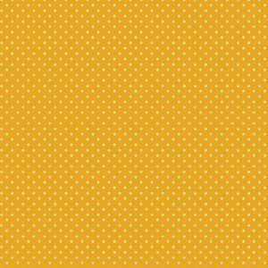 geel wit klein stipje