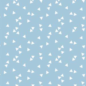 licht blauw wit triangel