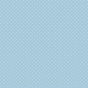 licht blauw wit klein stipje