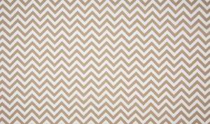 beige (taupe) - wit chevron - zigzag (op=op)