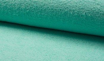 mint groen (fel) badstof dubbelgelust