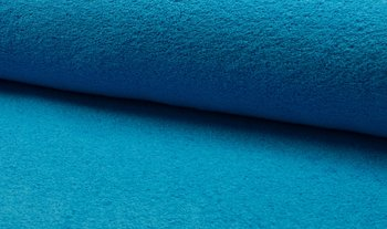 blauw aqua badstof dubbelgelust