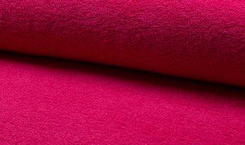 fuchsia roze badstof dubbelgelust