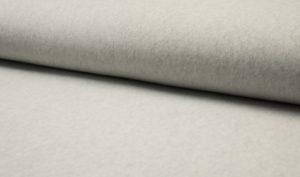 licht grijs biologisch katoen fleece (op=op)