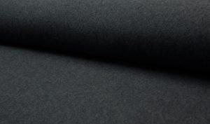 donker grijs biologisch katoen fleece (op=op)