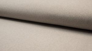 beige (taupe) biologisch katoen fleece (op=op)