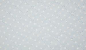 licht blauw ster teddy dubbelzijdig (op=op)