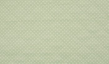 mint groen stip teddy dubbelzijdig (op=op)