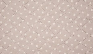 licht grijze ster teddy dubbelzijdig (op=op) nog ruim 1,35m