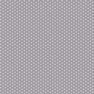 grijs wit sterretje mini mini (op=op)