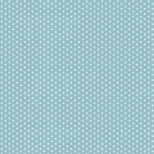 blauw wit sterretje mini mini