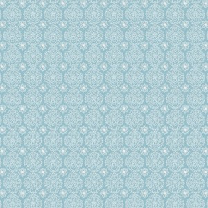 blauw wit retro werkje mini mini (op=op)