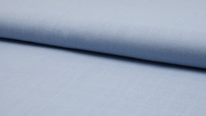 vintage blauw uni hydrofiel