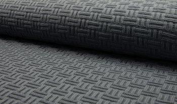 donker grijs gebreide stof Swiss