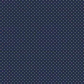 donker blauw wit klein stipje