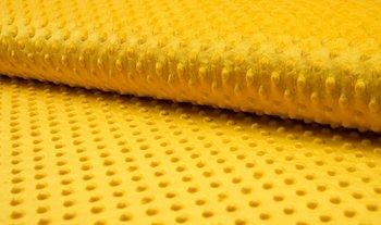 geel (oker) minky noppenfleece