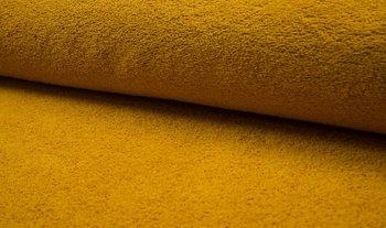 geel (oker) badstof dubbelgelust