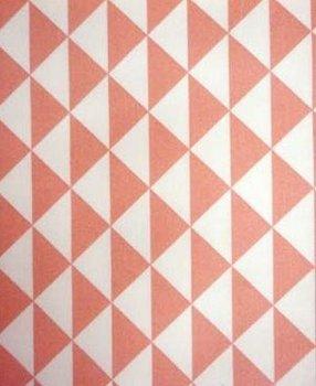 koraal roze wit vaste triangel