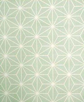 dusty mint groen geo figuur