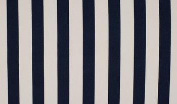 donker blauw wit dikke strepen - streep