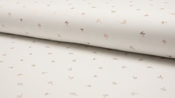 wit goud (rose) pluis - glitter tricot