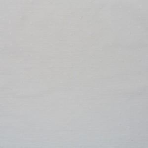 wit broderie katoenen voile met nopje