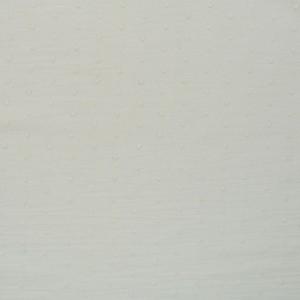 wit (ecru) broderie katoenen voile met nopje