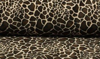 bruin beige giraf - kortharig (op=op)