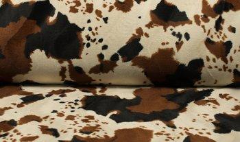 beige bruin koe - kortharig