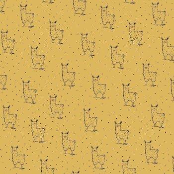 geel mosterd / oker lama hydrofiel