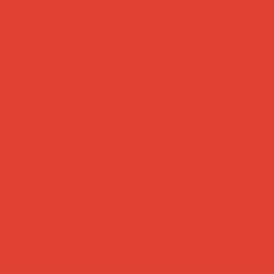 oranje rood uni katoen