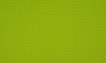 lime groen wit stipjes