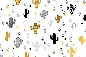 wit geel zwart grijs kaktus (op=op)