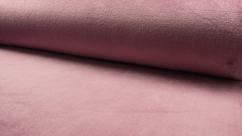 oud roze effen wellness fleece