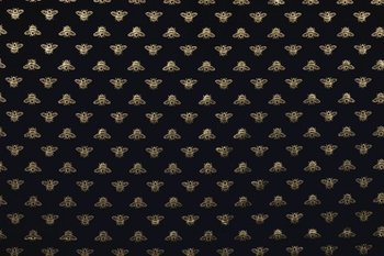 donker blauw goud bugs ( bij ) - tricot
