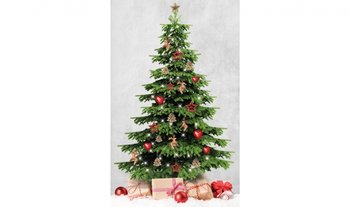 x-mas kerstboom paneel digitaal- canvas