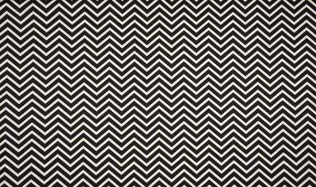zwart wit chevron - zigzag